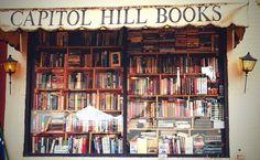Capitol Hill Books, Washington. From Luxury Bookshelf