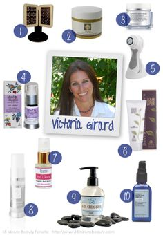 Fave products of Reveal Great Skin's Victoria Girard