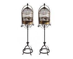 bronze birdcages $6K