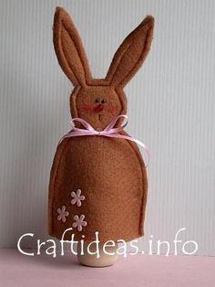 easter crafts felt