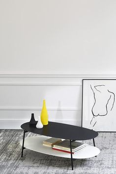 Shop the Shika Oval Coffee Table and more contemporary furniture designs by Coedition Furniture at Haute Living. French Furniture, Table Furniture, Contemporary Furniture, Oval Coffee Tables, Nordic Design, New Homes, Indoor, Living Room, Interior Design