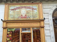 It is a sweet shop in Paris!