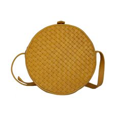 The Scarlett in Mustard Leather Weaving, Brass Hardware, Antique Brass, Saddle Bags, Mustard, Leather Bag, Shoulder Strap, Hand Weaving, Stone