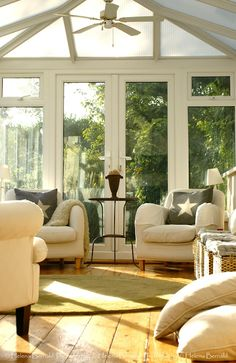 Sunroom / Conservatory from The Swenglish Home