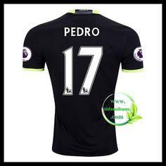 Fotballdrakter Chelsea PEDRO #17 Bortedraktsett 2016-2017