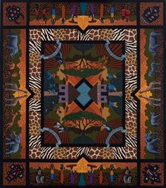 You'll love your African Quilt fine art print from Dowdle Folk Art! This print is colorful, yet has a peaceful serenity and features Kenyan experiences. African Quilts, African Textiles, African Fabric, African Art, African Beauty, Scrappy Quilts, Baby Quilts, Fabric Art, Quilt Making