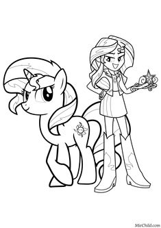 Pokemon Coloring Pages, Coloring Book Pages, Coloring Sheets, My Little Pony Coloring, Coloring Pages For Kids, My Little Pony Twilight, Unicorn Pictures, Daisy Girl Scouts, Disney Colors