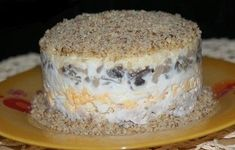 Chicken salad with walnuts - Cooking Come Appetizer Sandwiches, Walnut Recipes, Good Food, Yummy Food, Walnut Salad, Chicken Salad, Food Photo, Salad Recipes, Stuffed Mushrooms