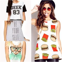 collage graphic tees - Google Search
