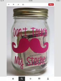 Funny idea for mason jar