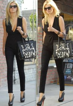 ..:: All black w/Celine Bag ::..