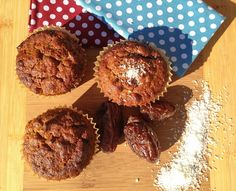 Date and Coconut Muffins - The Nourished Psychologist