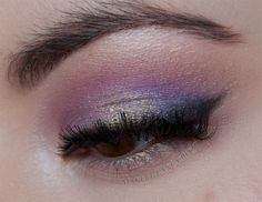 Pinks and purples make a perfect eyeshadow combo