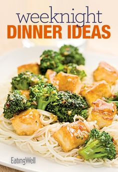 Our weeknight dinner ideas in a downloadable cookbook.
