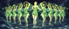 green fairy moulin rouge - Google Search