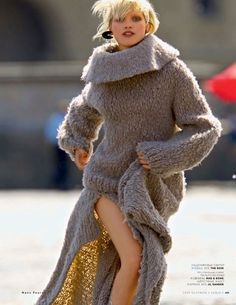 visual optimism; fashion editorials, shows, campaigns & more!: hana jirickova by hans feurer for vogue russia september 2014