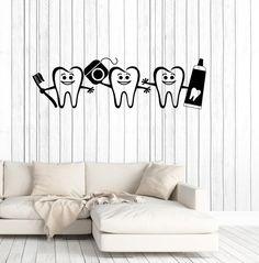Dental Care Molar Vinyl Wall Art