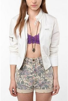 UrbanOutfitters.com > Members Only Classic Bomber Jacket - StyleSays
