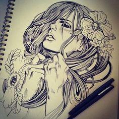 Crazy Tattoo Design. #tattoo #tattoos #ink