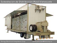 Subestacion Prefabricada Movil Venezuela. Celdas de Media Tension. Transformador de Distribucion. Banco de baterias. Centro de Control de Motores.