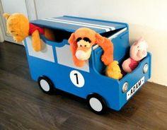 Coffre à jouets voiture