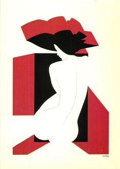 AMLETO DALLA COSTA - Gorgeous Group of 8 ART DECO / BRILLIANT Artist Postcards