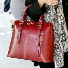 42.99$  Buy here - http://aligbu.shopchina.info/1/go.php?t=32779796579 - New Fashion Women Genuine Leather Bag Brand Hard Cowhide Handbag Women's Messenger Bags Casual Tote Lady Travel Crossbody Bag   #buyonlinewebsite