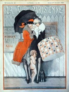 Jacques (Julien) Leclerc. La Vie Parisienne, 27 Novembre 1920. [Pinned 15-vi-2015]