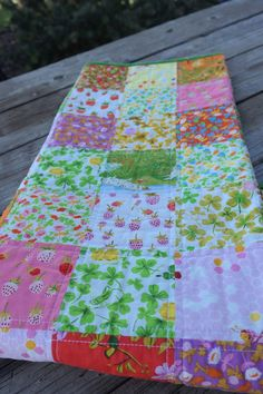 Amazing quality baby quilt by my friend Emily! If you're ever looking for a one-of-a-kind quilt, check her out. Baby Patchwork Quilt, Baby Quilts, Picnic Blanket, Outdoor Blanket, Heather Ross, Briar Rose, Rubber Flooring, Practical Gifts, Unusual Gifts