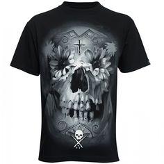 Sullen Flower Skull Men's T-Shirt, £21.99