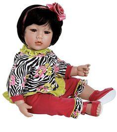Zebra Rose   Adora   2021017 http://www.toniscollectibles.com/dolls/dolls-manufacture/adora-dolls/adora-dolls-flutter-baby-bee.html
