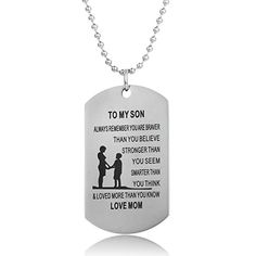 Meaningful Birthday Gift for Children//Teen Girls On Christmas Day Stainless Steel Full Box Father Daughter Necklace Chain AZ Gifts Love Daughter Heart Pendant for Littles Girl