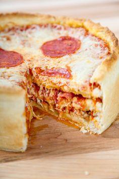 Pizza Cake on MyRecipeMagic.com