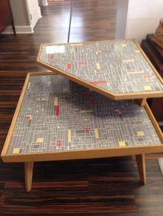 Atomic corner table upscaled mid century by pomfretmidcentury