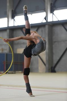 Alexandra SOLDATOVA (Russia) ~ What a flexibility and graceful gymnast