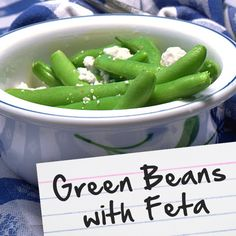 Recipes for Diabetes: Green Beans with Feta
