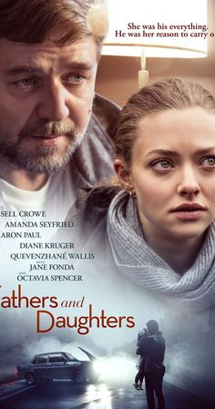 Fathers and Daughters Movie Poster - Russell Crowe, Amanda Seyfried, Aaron Paul Movie To Watch List, Tv Series To Watch, Good Movies To Watch, Movie List, Series Movies, The Daughter Movie, Father Daughter, Romance Movies, Drama Movies