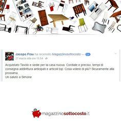 Ti piace l'arte povera e vorresti ordinare dei MOBILI online? 💡  Guarda le opinioni dei nostri clienti su http://www.magazzinosottocosto.it/blog/testimonianze/?utm_content=bufferc2b1e&utm_medium=social&utm_source=pinterest.com&utm_campaign=buffer <<<