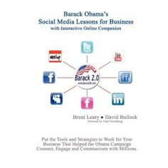 Barack Obama's Social Media Lessons For Business (Paperback)  http://disneystorejobs.com/amazonimage.php?p=0578008025  0578008025