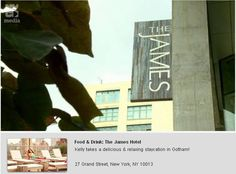Eat Out with Time Out at The James New York!