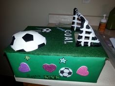 soccer valentines box - Soccer Valentine Box