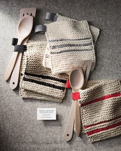 Need a hand in the kitchen? These pot holders are both functional and decorative.