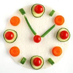 It's always time for veggies!