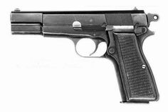 "Browning high power 9mm Pistol-used by Switek in ""French Twist"""