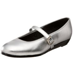 TicTacToes Womens Maryjane Dance ShoeSilver9 M US >>> More info could be found at the affiliate link Amazon.com on image.