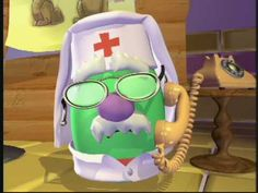 VeggieTales: The Yodeling Veterinarian of the Alps - Silly Song; good to know if you happen to be treating a teddy bear in the Alps =)