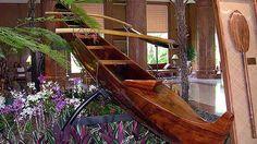 Koa - King of Hawaiian Woods Wood Canoe, Outrigger Canoe, Aloha Hawaii, Canoes, Surfboards, Hawaiian Islands, Outdoor Furniture, Outdoor Decor, Woodworking Crafts