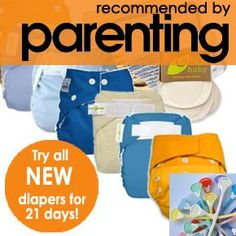 Jillian's Drawers cloth diaper trial pack...try out different types of cloth dipes!