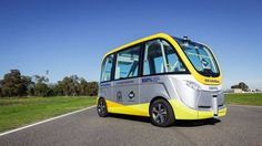 Get on board: Australia has just launched its first driverless bus ->…