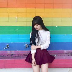 1枚でラブリーimpact♡流行の赤テニススカートの着回し5days|MERY [メリー]